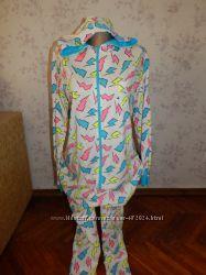 New Look слип пижама человечек трикотажный с капюшоном рМ