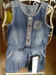 джинсовый ромпер комбинезон 1-1. 5 года