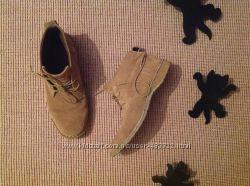 Ботинки нат замша 39 40 Cotton