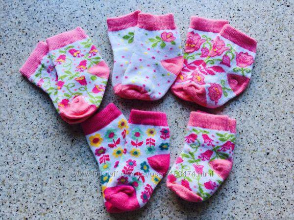 махровые ,  без махры носочки для малюток