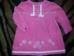 Платье для девочки 74 см