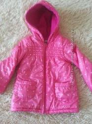 Демисезонная куртка для девочки 4 года