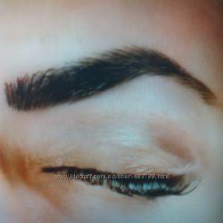 Татуаж бровей волоском 3D. Перманентный макияж.