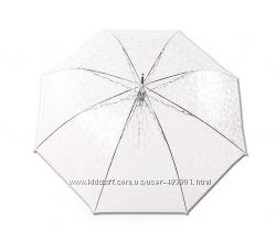 Зонт трость прозрачный Rainy Days