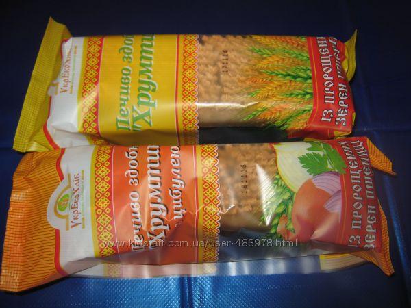СП хлебцы, кексы, печенье, сухари и хлеб из пророщенного зерна