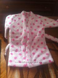 Флісові халатики для дівчинки віком 3-4 рочки. тепленький і мягенький