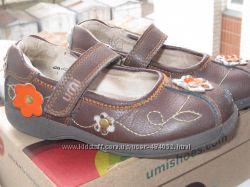 кожаные туфли umi  27р по стельке 17см