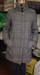 пальто клетчатое