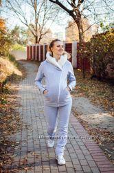 Утепленный костюм для беременных