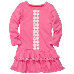 Платья, туники для девочек от 2 до 8 лет