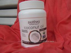 Кокосовое масло Nutiva Virgin cold pressed 444 ml