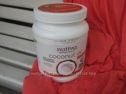 Органическое рафинированное кокосовое масло Nutiva на развес