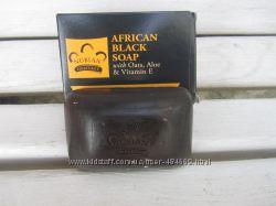 Африканское черное мыло Nubian Heritage 141g, 100 натуральный состав