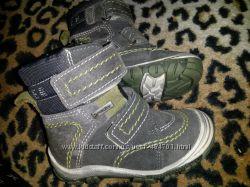 Ботинки на мальчика, термоботинки RICHTER 20 размер с мембраной SympaTex