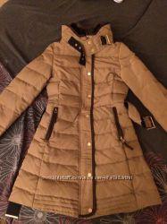 Пуховик Zara, пальто
