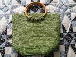 Соломянная сумка