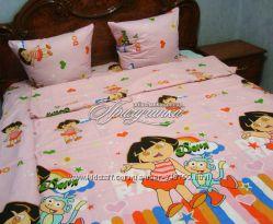 яркое детское постельное белье, Даша