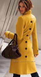 Стильное пальто с пуговицами Виктория Сикрет