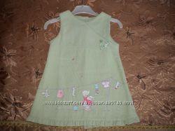 платье MOTHERCARE вельветовое для девочки 9-12 месяцев