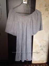 Туника-кофта серого цвета