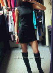 Стильнейшее теплое мини платье