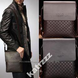 Стильная молодежная мужская сумка-планшет. 2 Цвета
