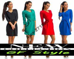 Стильное платье Bello-Бант 4 цвета