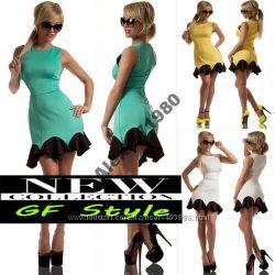Яркое платье WAVE-Too 3 цвета