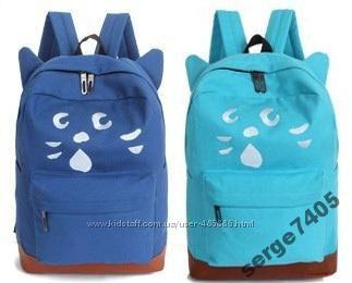 Стильный  рюкзак - Котик v. 2