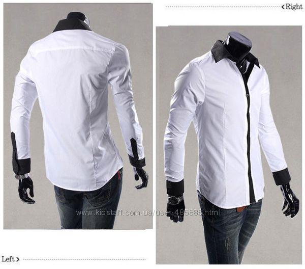 Рубашка мужская рс1 S, М, Л, ХЛ
