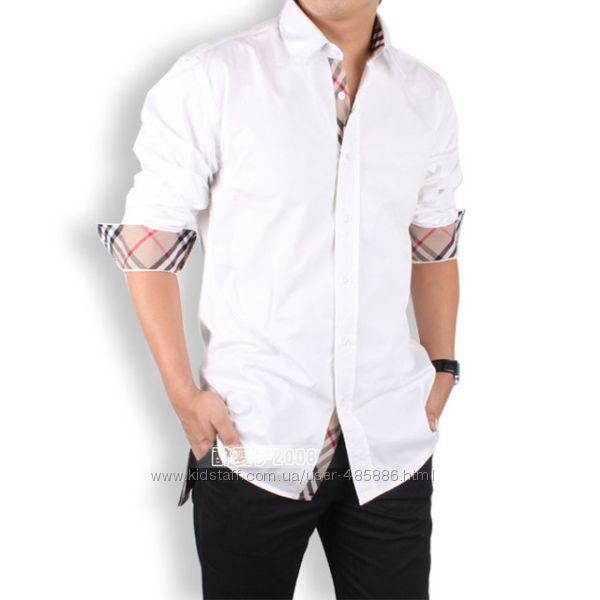 Приталенная рубашка Stereoman рс25