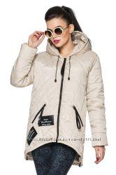 Женская стильная демисезонная куртка Камила 44-54, много цветов