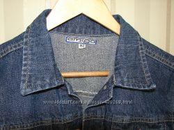 Классный джинсовый пиджак, рост 152