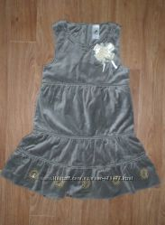 Нарядное платье Palomino 122р. брошь в подарок