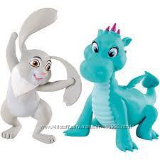 Принцесса София и ее сестра Эмбер, кролик и дракончик, наборы, оригинал