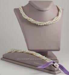 Ожерелья, браслеты, серьги