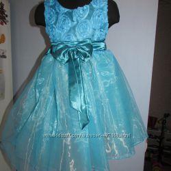 В наличии Нарядное  платье Бабочка