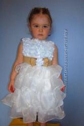 В наличии новое Платье рюши