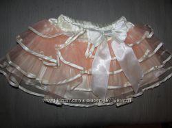 Нарядная юбка на праздник на 1-2 года