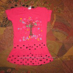 Туничка  и платье на 1, 5-2, 5 года