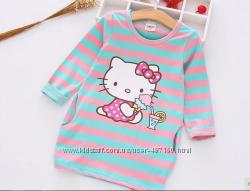 Платье Hello Kitty для модницы р. 140 на 6-8 лет