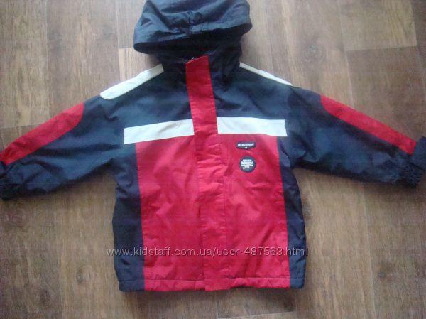 продам фирменную Ocean cruise деми куртку 2-4 года