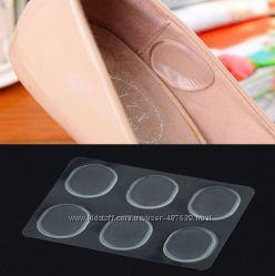 Силиконовые вкладыши для обуви 6шт