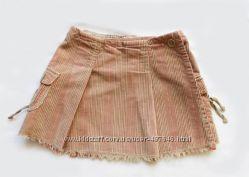 юбка макровельвет Timberland, с запАхом, длина 24см, состояние отличное
