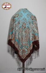 Павлопосадские платки 100 см на 100 см