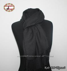Однотонные шарфы из пашмины