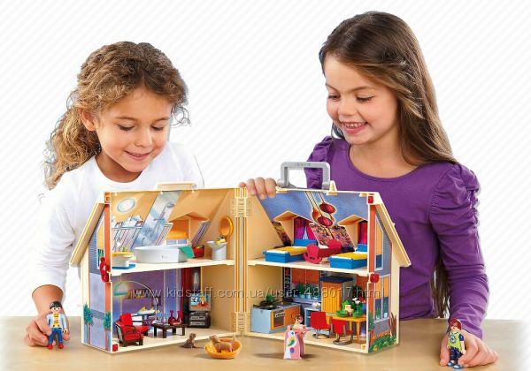 Playmobil 5167 Новый портативный кукольный домик. Оригинал