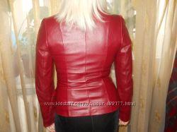 Кожана курточка-піджак