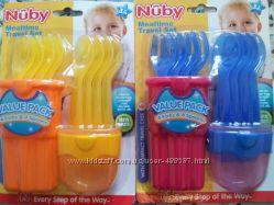 Продам наборы детской посуды Nuby