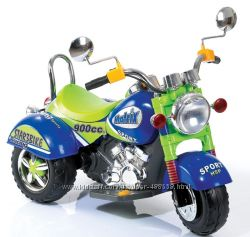 Детский электромотоцикл Geoby W320 с электрическим мотором 6V